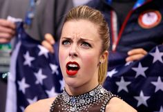 Ashley Wagner Is Not Impressed: See the Skater's Reaction to the Top 5 Stories of the Week (PHOTOS)