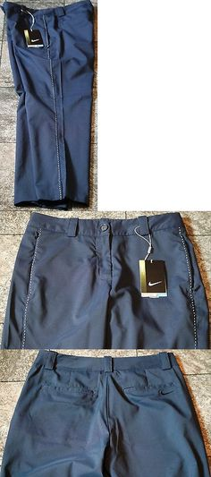 Pants 181148: Nike Women S Golf Tournament Crop Pants, Blue, 452861 410, Nwt -> BUY IT NOW ONLY: $45.19 on eBay!