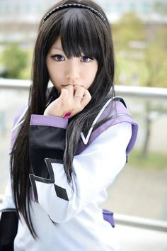 Homura Akemi | Puella Magi Madoka Magica #cosplay #anime