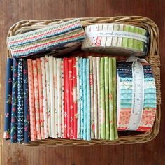 Harper's Garden Fat Quarters and pre-cuts
