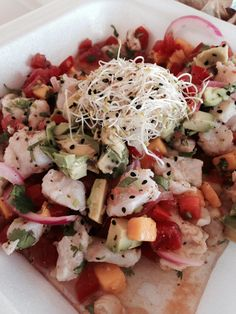 The wife and I went to Mexico, and all we came home with was the best ceviche recipe I've ever found. Amazing.