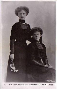 Alexandra and Maud