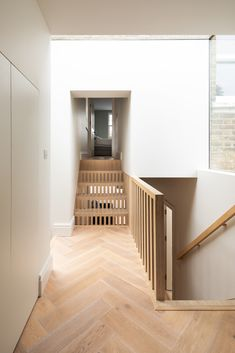 Step House | Leibal Bespoke Staircases, Modern Interior, Interior Design, Hallway Inspiration, Dappled Light, Narrow House, Kitchens And Bedrooms, Interior Stairs, New Room