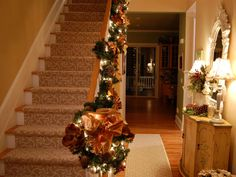 Copper Christmas decor