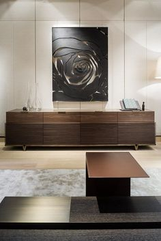Find the perfect sideboard or buffet that will suit perfectly in your room interior design! Cabinet Furniture, Design Furniture, Modern Furniture, Home Furniture, Deco Buffet, Dining Room Walls, Living Room, Interior Decorating, Interior Design