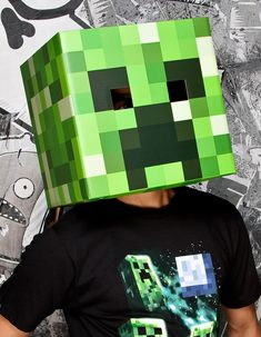 What are you going to be this Halloween? Or Steve from Minecraft? Grab these great official Minecraft costumes and accessories and get ready to take your game play to the real world this Halloween. Minecraft Halloween Costume, Creeper Costume, Minecraft Costumes, Halloween Masks, Holidays Halloween, Minecraft Toys, Minecraft Mask, Minecraft Stuff, Steve Minecraft