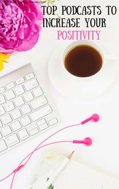 Ready to change your mindset and start to be more positive? Check out these top podcasts to change your mindset and life and get a free cheat sheet and guide to personal development! #podcasts #positivity