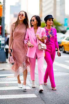 4 Buenas Razones y 30 Imágenes De Street Style Que Te Probarán Que Debes Usar Un Look Monocromático | Cut & Paste – Blog de Moda