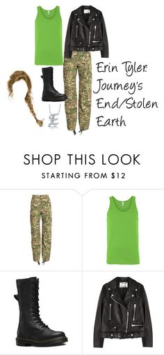"""Erin Tyler: Journey's End/Stolen Earth"" by photogeekgirl ❤ liked on Polyvore featuring Vetements, Dr. Martens, Acne Studios and BERRICLE"