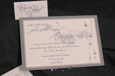 Ginko wedding invitation set