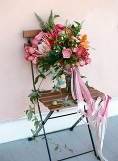 Tropical fall wedding inspiration