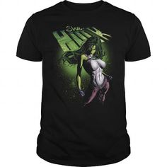 Superhero Origins: She-Hulk T-Shirts & Hoodies