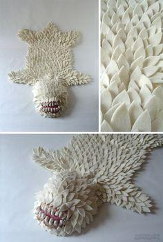 Melle Amo: Le tapis en peau de monstre
