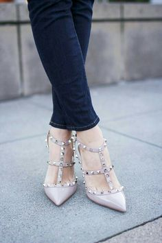 I've been obsessing over Valentino's studded heels! ❤ Sole Society has great dupes.