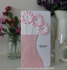 Image result for cards made with all occasion embossing folder and dies