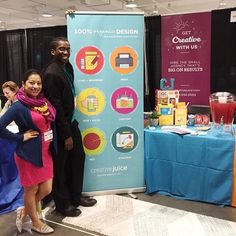 Our Juicers have a lot to offer and we want to tell you ourselves. Stop by booth 102 at the #smallbizexpo to say hi. The Juicers are excited to get to know you too!  #smallbiz #smallbusiness #business #entrepreneur #boss #agency #marketing #design#grahicd