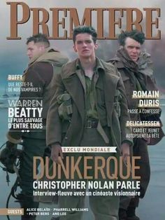 """#NEWS It was learned that on March 1 will be a new edition of «Premiére» French magazine in which 10 pages are devoted to the film """"Dunkirk""""."""