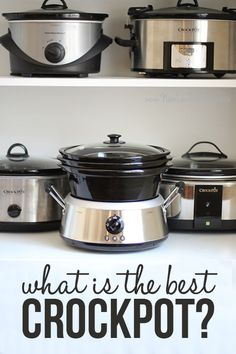 "This is a great slow cooker review. I bought the one that is called the best ""all-in-one"" and love it!!"