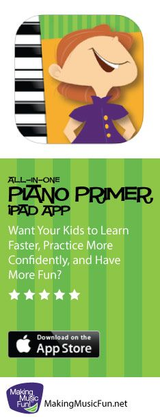 MMF Piano Primer | iPad App (Beginner Piano Lesson Book) https://itunes.apple.com/app/id764657893 (Scheduled via TrafficWonker.com)