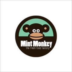 Logo Foodtruck Mint Monkey