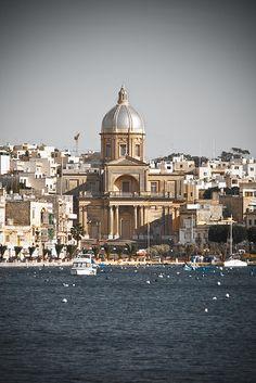 Kalkara Church #malta sail my 45 logoon right there baby!!!!