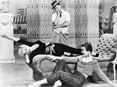 Marilyn Monroe, Donald O'Connor and Mitzi Gaynor in There's No Business Like Show Business, 1954. S)
