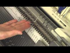 Two Knitted Diagonal Edgings by Diana Sullivan - YouTube