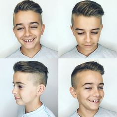 Image result for undercut boy haircut