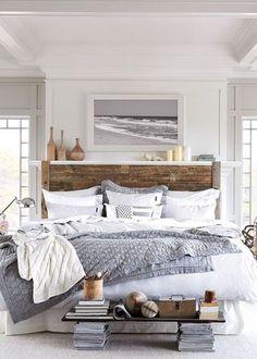 Maritim Schlafzimmer by JNMRustic Designs