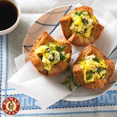 With all the hustle and bustle of the #holiday season, don't forget breakfast! Fill up for the day with our Whole Grain Florentine Egg Cups