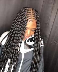 Feed In Braids Hairstyles, Side Hairstyles, Black Girl Braids, Braided Hairstyles For Black Women, Baddie Hairstyles, Braids For Black Hair, Weave Hairstyles, Hairstyles 2018, Drawing Hairstyles