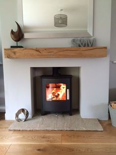 Newest Absolutely Free Fireplace Hearth stone Popular Mendip Churchill 5 multifuel Home Living Room, Home, Home Fireplace, Living Room With Fireplace, Oak Beam Fireplace, New Living Room, Log Burner Living Room, Cottage Living Rooms, Cosy Living Room