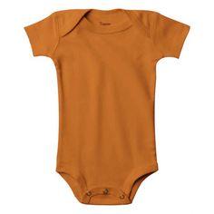 Body Bebê Laranja
