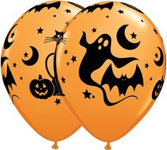 11 Inch Latex Balloons Fun & Spooky Icons