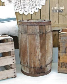 Hey, I found this really awesome Etsy listing at https://www.etsy.com/listing/198826556/antique-wooden-nail-barrel-rustic