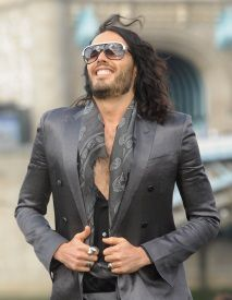 "2012- Russell Brand is one of the most outlandish actors to burst onto the Hollywood scene in recent years. Not one to hide anything whatsoever about his drug-addled past, Brand is a truly energetic personality, and it's no secret that he dresses the part. ""Eclectic"" is really the only way to describe Brand's look, with a penchant for rock and roll fashion and a devil-may-care attitude that helps him to get away with wearing even the most ridiculous ensembles."