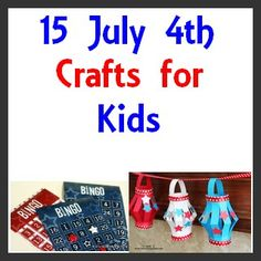 15 July 4th Crafts for Kids