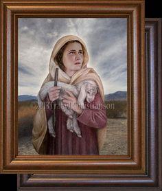St. Germaine Cousin Framed