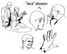 "Model Sheet Monday ""Jonny Quest"" 1964-1965"