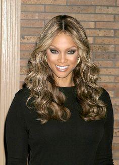 Peachy Tyra Banks Hair Just Love And Money On Pinterest Short Hairstyles Gunalazisus