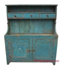 beautiful old blue dry sink circa Plank paneled doors x d x h; I love my dry sink! Primitive Cabinets, Primitive Furniture, Primitive Antiques, Country Furniture, Country Primitive, Country Decor, Antique Furniture, Painted Furniture, Primitive Decor