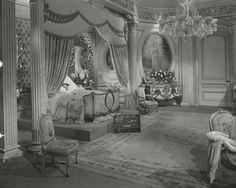 Set still of Scarlett O'Hara's bedroom at the Butler House