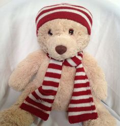 aeropostale teddy bear http://www.ebay.com/itm/Aeropostale-Teddy-Bear-Stuffed-Animal-Plush-Cream-Brown-Red-White-Scarf-Hat-/360556841745?pt=US_Dolls_Bears_Toys=item53f2dccb11