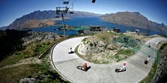 Skyline Queenstown Luge Track