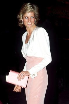 Princess Diana & her classic beautiful look. I am SO in LOVE with this look
