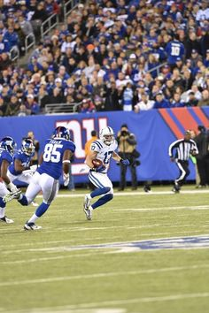 Giants vs. Colts - Indianapolis Colts WR Griff Whalen making the run (11/3/14)