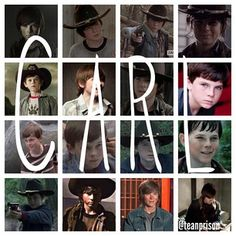 Carl Grimes, teamprison on Instagram