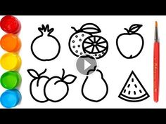 COLORING CHRISTMAS TREE Painting for toddlers and Drawing for kids ...