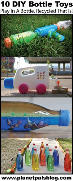 10 DIY Toys from Plastic Containers-Gr8 Recycle Crafts http://plpls.com/LpH59W