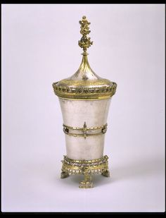Beaker and cover   Place of origin: Basel (Germany), Germany (probably, made)  Date: 1450-1500 (made)